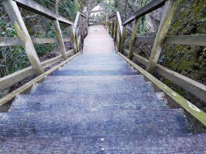 scale sentiero cascate delle marmore